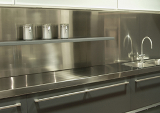 Home And Commercial Stainless Steel Countertops